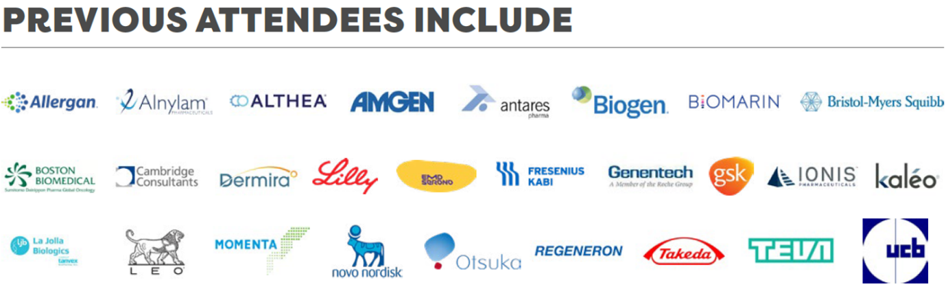 Previous Attendee Injectables